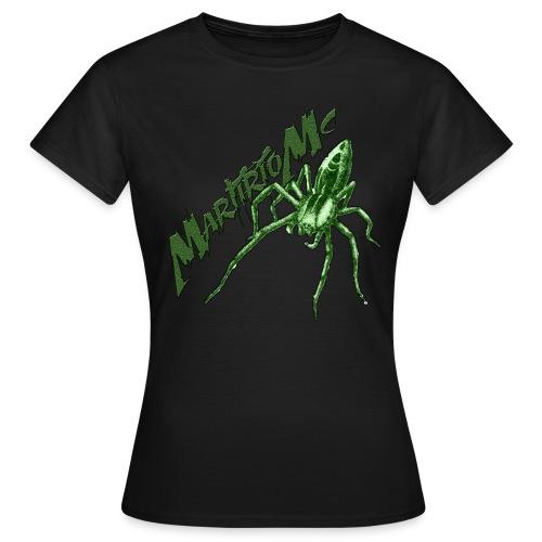 MartirioMC Spider Girl Tshirt - Maglietta da donna