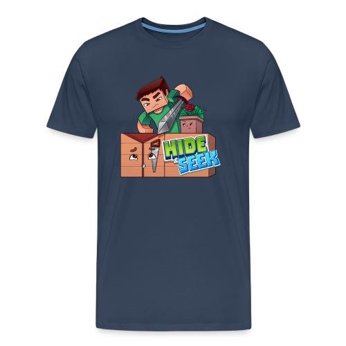 Men's Hide and Seek Tee - Men's Premium T-Shirt
