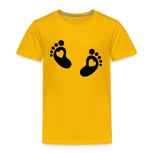 T-Shirt Foodstep - Kinder Premium T-Shirt