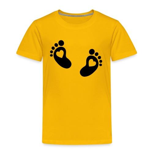 T-Shirt Foodstep - Kinder Premium T-Shirt