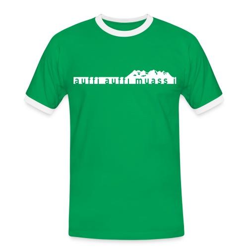 Wetterstein Man - Männer Kontrast-T-Shirt