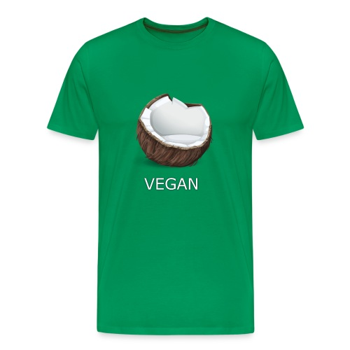 CocoVeg - Männer Premium T-Shirt