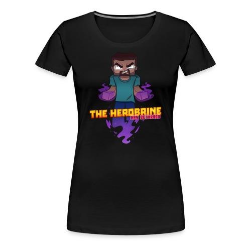 Women's The Herobrine Tee - Women's Premium T-Shirt