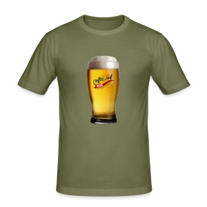 After Surf Beer - Männer Slim Fit T-Shirt