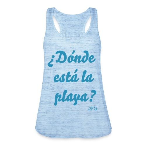 Where is the beach? - Women's Tank Top by Bella