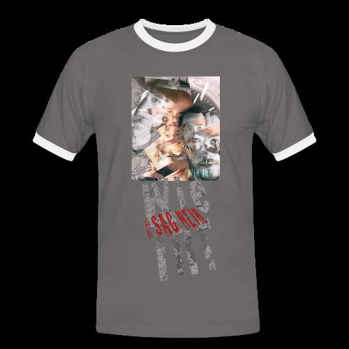 Wie Ihr Debüt - Männer Kontrast-T-Shirt