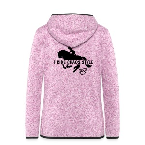 jacket horse riding chaos style - Women's Hooded Fleece Jacket