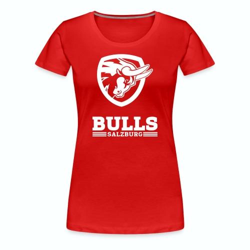 Salzburg Bulls Premium T-Shirt rot - Frauen Premium T-Shirt