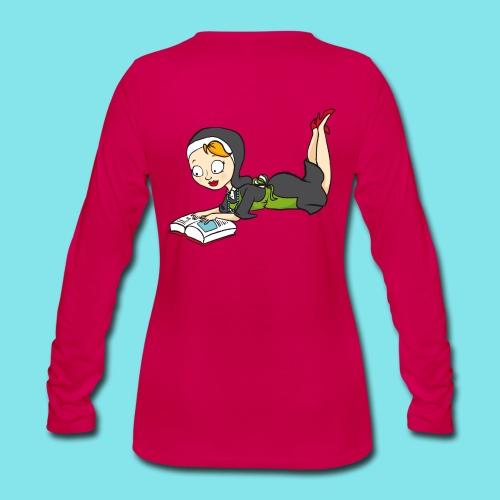 Long Sleeve T-shirt Lezen - Vrouwen Premium shirt met lange mouwen