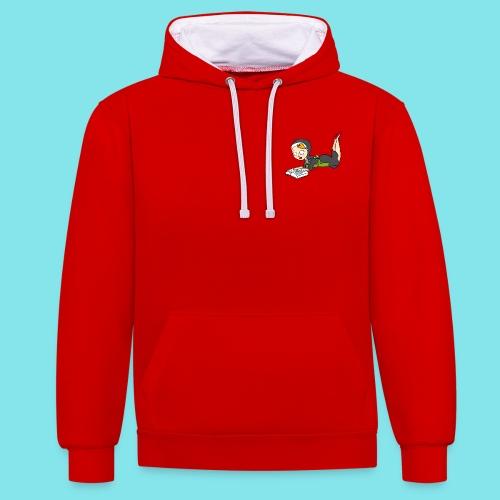 Hoodie Lezen - Contrast hoodie