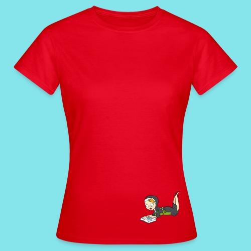 T-shirt Lezen - Vrouwen T-shirt