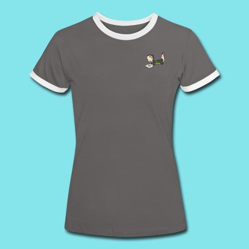 T-shirt Lezen - Vrouwen contrastshirt