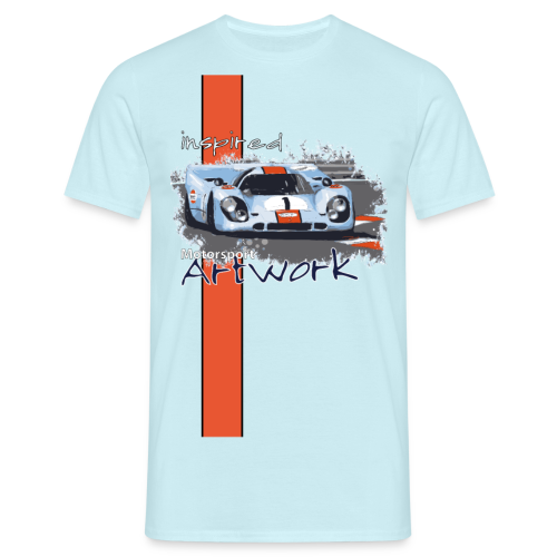 Motorsport Artwork - Männer T-Shirt