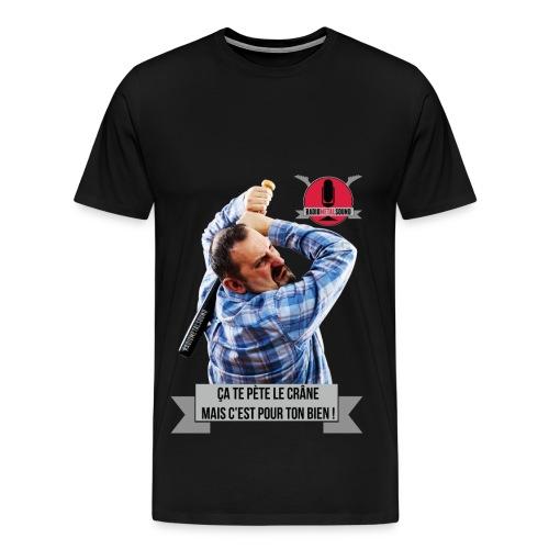 RMS - Pète ton crâne ! - T-shirt Premium Homme