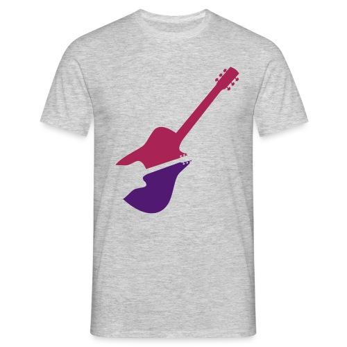 2 Guitars - Männer T-Shirt