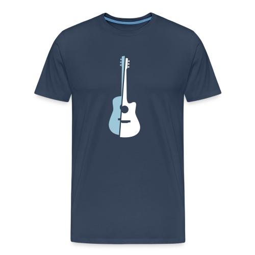 Half-n-Half - Männer Premium T-Shirt