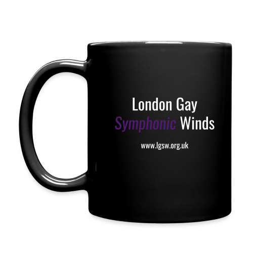 LGSW Mug Black - Full Colour Mug