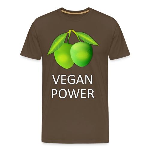 VEGAN POWER - Männer Premium T-Shirt
