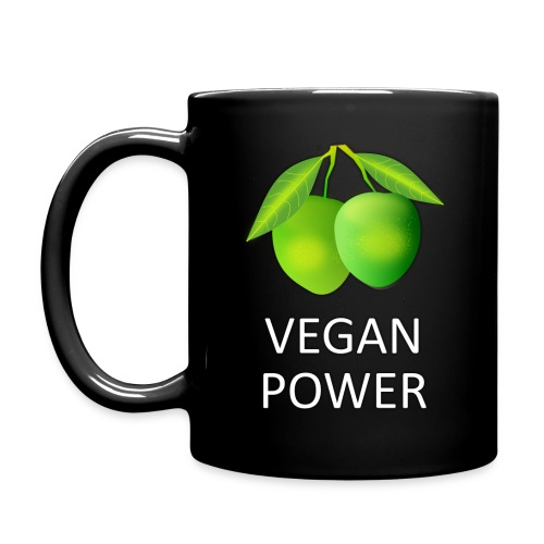 VEGAN POWER - Tasse einfarbig