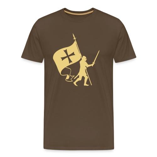 Porte étendard - T-shirt Premium Homme