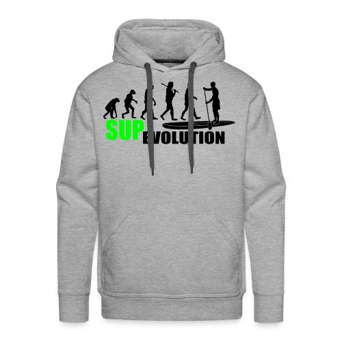Männer Hoodie: SUP Evolution - Männer Premium Hoodie