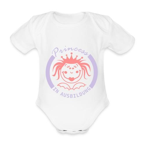 Prinzessin in Ausbildung - Baby Bio-Kurzarm-Body