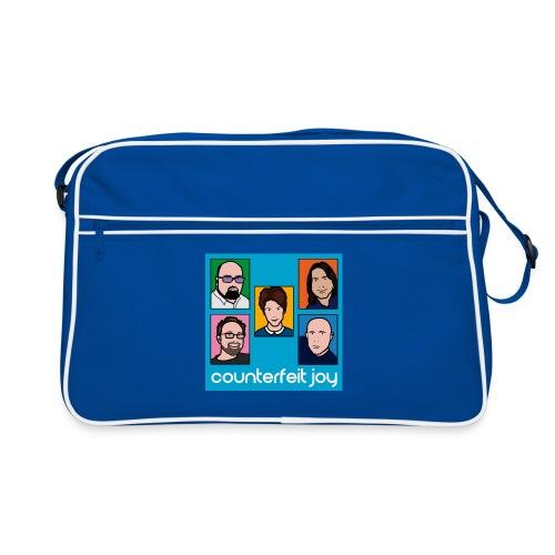 Counterfeit Joy picture logo retro bag - Retro Bag