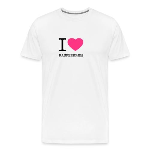Raspberry Pi - Männer Premium T-Shirt