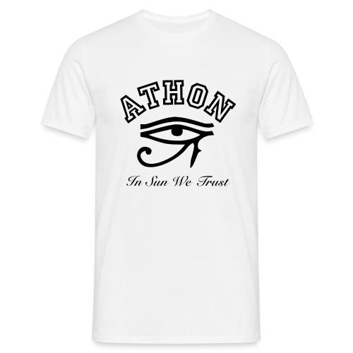 ATHON RA AUGE - Männer T-Shirt