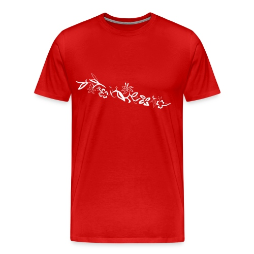 HawaiiFlowers Men - Men's Premium T-Shirt