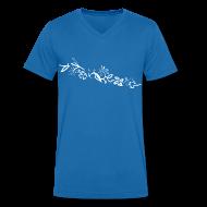 T-Shirts ~ Men's V-Neck T-Shirt ~ HawaiiFlowers V Men