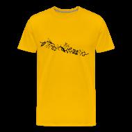 T-Shirts ~ Men's Premium T-Shirt ~ HawaiiFlowers Invert Men