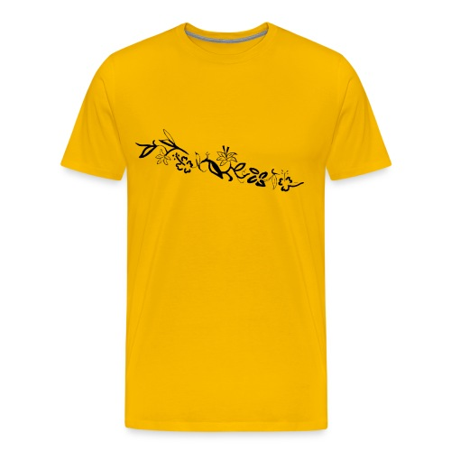 HawaiiFlowers Invert Men - Men's Premium T-Shirt