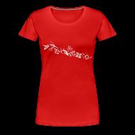 T-Shirts ~ Women's Premium T-Shirt ~ HawaiiFlowers Women