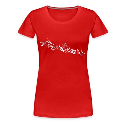 HawaiiFlowers Women - Women's Premium T-Shirt