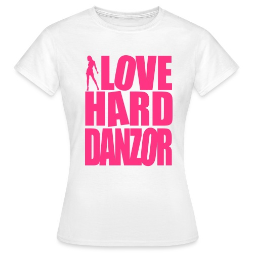 I Love Harddanzor Frauen T-Shirt - Frauen T-Shirt