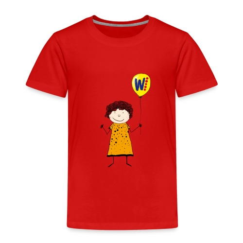 Kinder-Shirt Helga - Kinder Premium T-Shirt