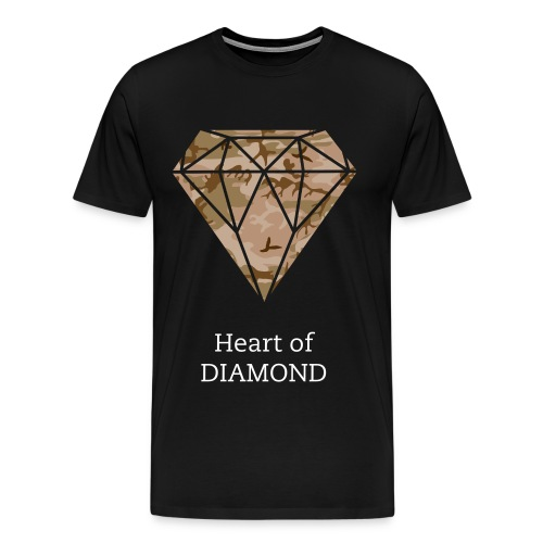 Heart of Diamond Herre T-Shirt - Herre premium T-shirt