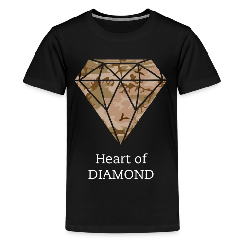 Heart of Diamond Teenager T-Shirt - Teenager premium T-shirt