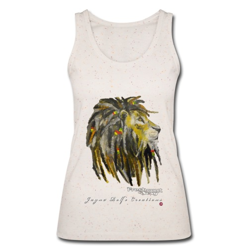 (EXCLUSIVE to FSS) Jayne Rolfe Creations Dred Lion 2 - Women's Organic Tank Top by Stanley & Stella