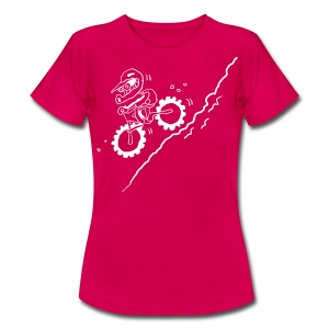 DOWN! Ladies - Frauen T-Shirt