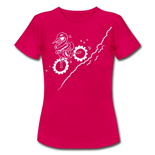 DOWN! Ladies - Frauen T-Shirt