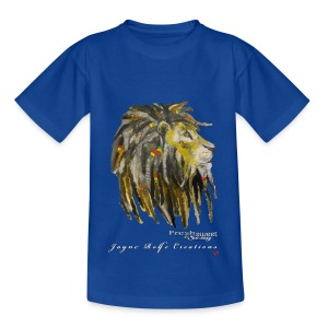 (EXCLUSIVE to FSS) Jayne Rolfe Creations Dred Lion 2 - Kids' T-Shirt