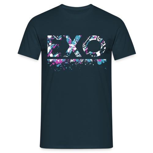 exo modern  - Mannen T-shirt