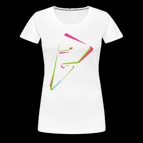BIG spectrographic WOMEN - Frauen Premium T-Shirt