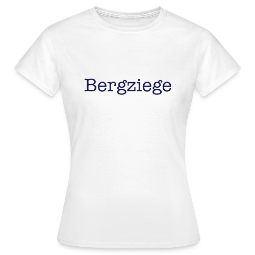 Bergziege - Damen Shirt - Frauen T-Shirt