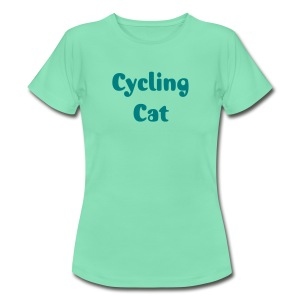 cycling cat - Frauen T-Shirt
