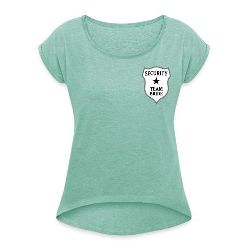JGA - Frauen T-Shirt mit gerollten Ärmeln