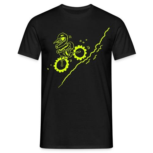 DOWN! - Männer T-Shirt