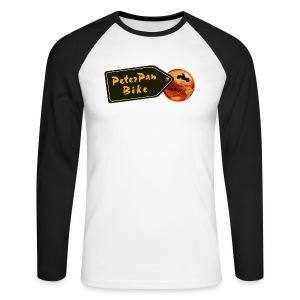 PeterPanBike paita - Miesten pitkähihainen baseballpaita